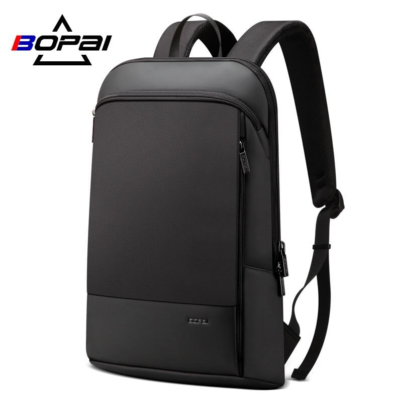 Stylish Mochila Daypacks Men Ultra Slim Laptop Backpack Ultra Light Computer Backpack Bags Water Repellent Men Back Pack Bags