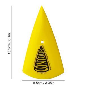 Image 4 - CNGZSY 5 шт., контурный угловой скребок, острый треугольник, автомобильный виниловый аппликатор, жёлтый, угловой скребок, инструменты для тонировки окон 5A13