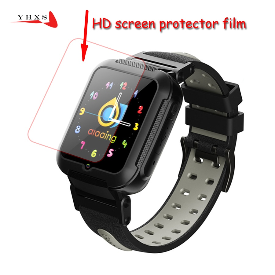HD Glass Screen Protector Film for E7 E7-4G V5K  Baby Kids Child Smart Watch Smartwatch Accessories
