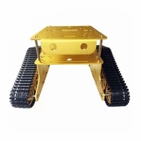 official td300 double crawler tank chassis car model arduino wall e robot of gen guest contest