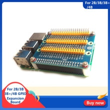 Module dextension framboise Pi GPIO 1 à 3 Module GPIO 40 broches pour Orange Pi PC framboise Pi 4B/3B +/3B framboise Pi zéro W/1.3