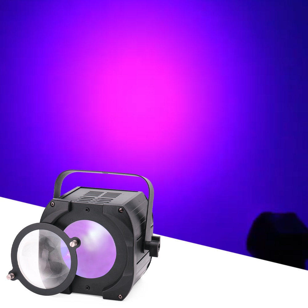 70W UV Wash Beam Par Light Sound Control LED With 2 Lenses Stage DJ Disco Effect Lights For Wedding Bar led Music Party Bar