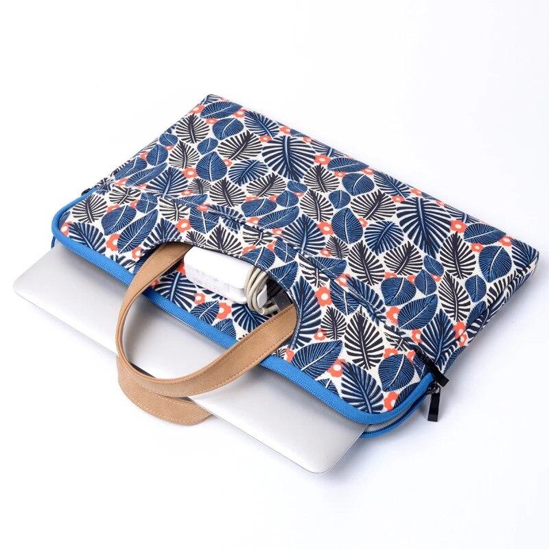 Floral Laptop Sleeve Tasche fur Macbook Air 11 Air 13 Pro 13 3 15 4 Neue Retina Handtasche 12 13 15 6 Notebook fur Dell Asus Acer Fall