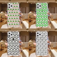 cartoon cute bear dinosaur cactus penguin pattern phone case for iphone 12 mini 6 6s 7 8 se plus x xs xr 11 pro max funda cover