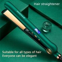 New Hair Straightener Curly Hair Straightening Dual-purpose Negative Ion Hair Care Straightening Cur