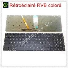 Franse Azerty RGB backlit kleurrijke Toetsenbord voor MSI GE63 GE63VR GE73 GE73VR GP72MVR GP72VR GP62M GV72 gl65m GV72VR MS-16J1 FR
