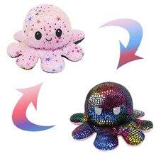 27 Styles Double sided Cat Octopus Gato Kids Plushie Plush Animals unicorn Double-Sided Flip Doll Cu