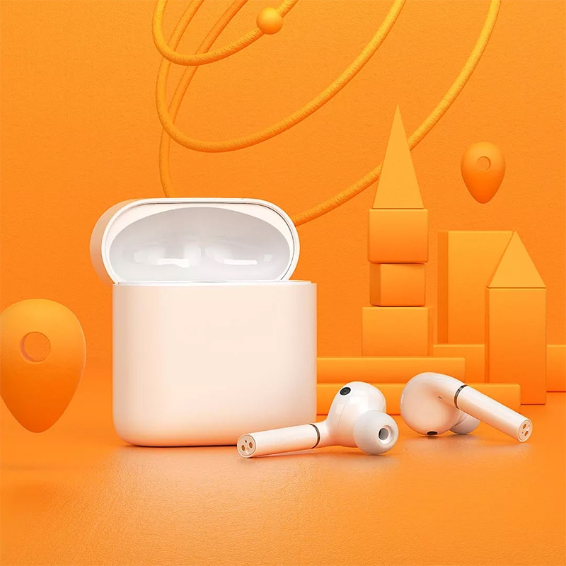 Youpin HAYLOU TWS Wireless Bluetooth T19 Full Smart Mini Earphone Dual In-Ear Earbuds With Smart Infrared Sensor Tap To Control enlarge