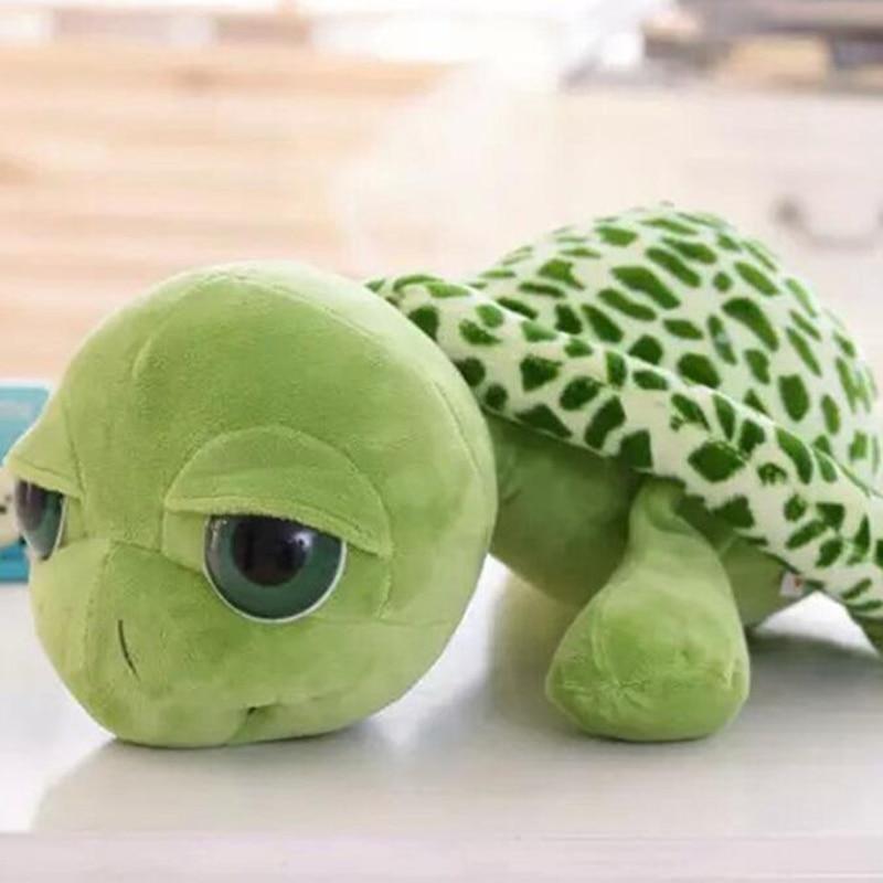 Kids Toys2020 Hot Sale Kawaii Big Eyes Tortoise Plush Toy Lovely Soft Small Sea Turtles Toy For Kids недорого