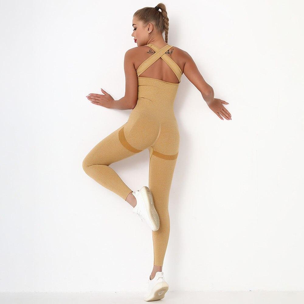 Бесшовный Женский комплект для йоги, женская спортивная одежда, спортивный комплект для тренировок, одежда для спортзала, женская одежда, б...