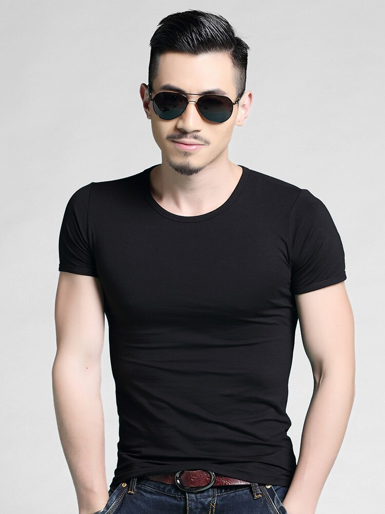 Moda personalizada personalizar hombres Camiseta de manga corta Camiseta con anuncio A373 impresión primavera otoño calle