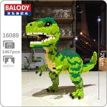 Balody 16089 Velociraptor Monster Animal 3D Model DIY 1457pcs Diamond Mini Building Small Blocks Bricks Toy for Children no Box