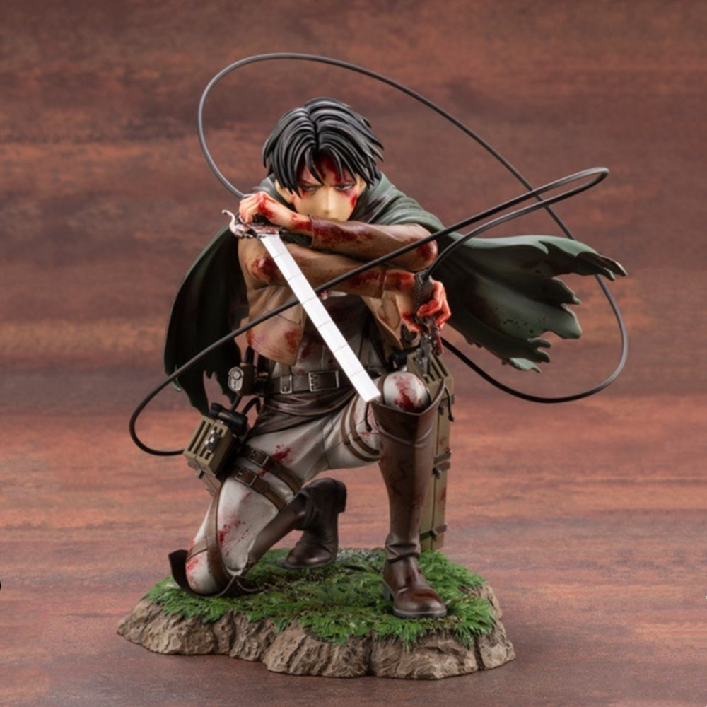Anime Figures Attack on Titan Levi Ackerman Rivaille Heichov Model Action Figurine Collectible Toys PVC Doll Brinquedos Juguetes