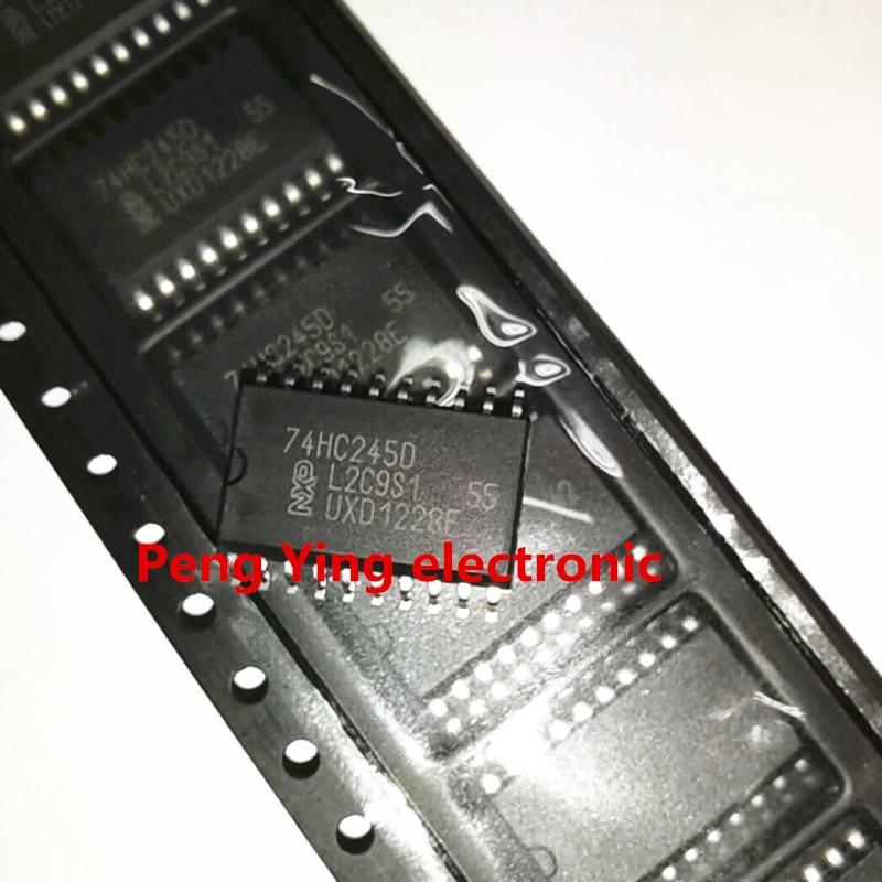 10 peças/lote 74HC244D 74HC244 SOP20 Pin SN74HC244DWR original estoque