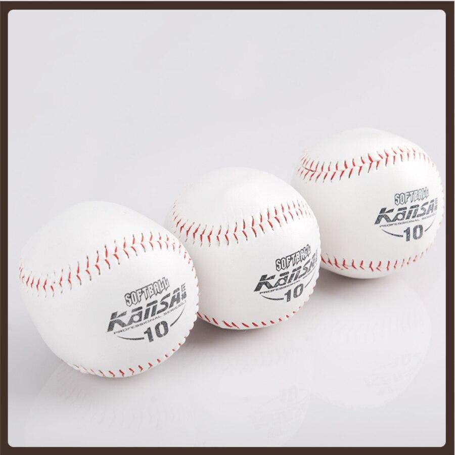 Профессиональный кожаный бейсбольный мяч, сувенирные аксессуары для бейсбола, тренировочные упражнения, бейсбольная тренировка
