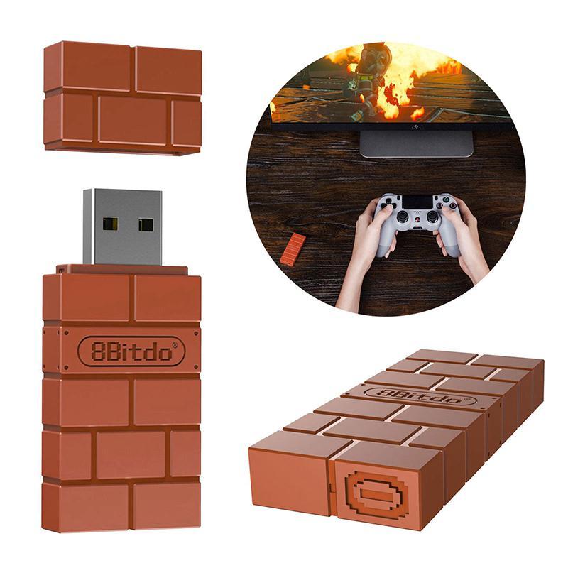 USB inalámbrico adaptador Bluetooth para PS4 Consola juego receptor interruptor de Nintendo...