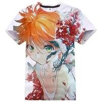 2020 new anime t shirt the promised neverland 3d print streetwear men women o neck short sleeve tshirt cosplay shirt tops unisex