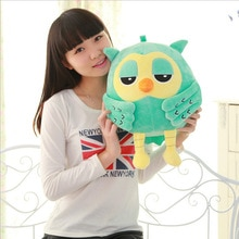 20CM Lovely Night Owl Plush Toy Baby Toys Stuffed Animal Doll 2 Colors Soft Dolls for Children Kids Girl Gift
