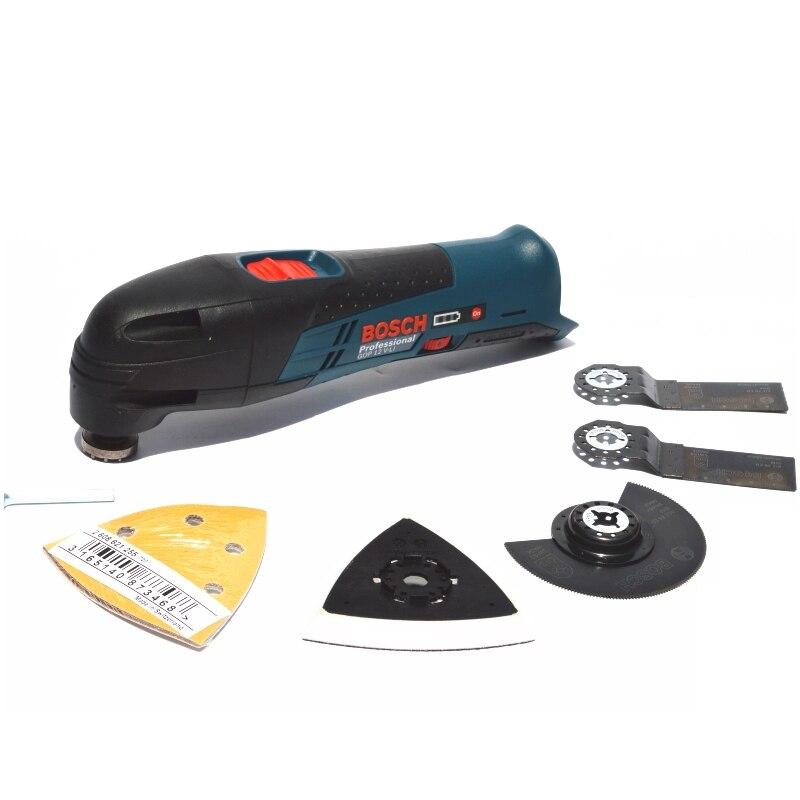Máquina de Corte e Polimento Bosch Recarregável Multifuncional Universal Tesouro Gop12v-li Gop12v-28 12v