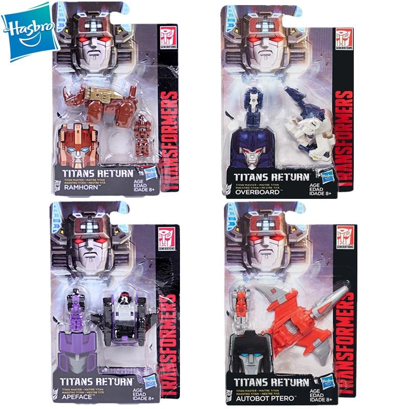 Transformers Hasbro, serie IDW Legends Level, Titans, juguetes de figura de acción de retorno, The Headmasters, Snoop, Grimlock, Steeljaw