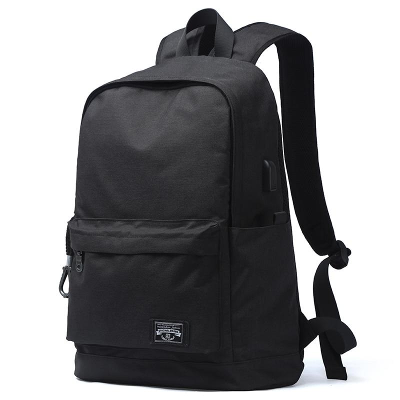 Vintage Casual Backpack Large Capacity Solid Simple Harajuku Chic Fashion Retro Unisex High Street