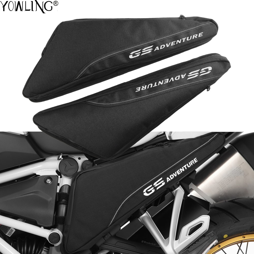 Accesorios de motocicleta para BMW R1200GS GS LC ADV R1200R LC/R1200RS LC/R1250GS ADVENTURE R1250R/R1250RS bolsa de herramientas de marco impermeable