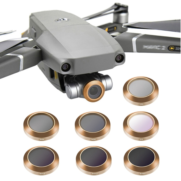 Y/pl filtro para mavic-2-zoom Dron profesional anamórfico cpl filtros Cámara lente con...