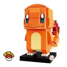 Erleuchten Baustein Charmander 118 stücke Brickheadz Bildungs Bricks Spielzeug Für Jungen Geschenk-Keine Einzelhandel box