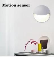 led night light with motion sensor led sensor night light wall plug in socket for indoor aisle stairs corridor bedroom decor