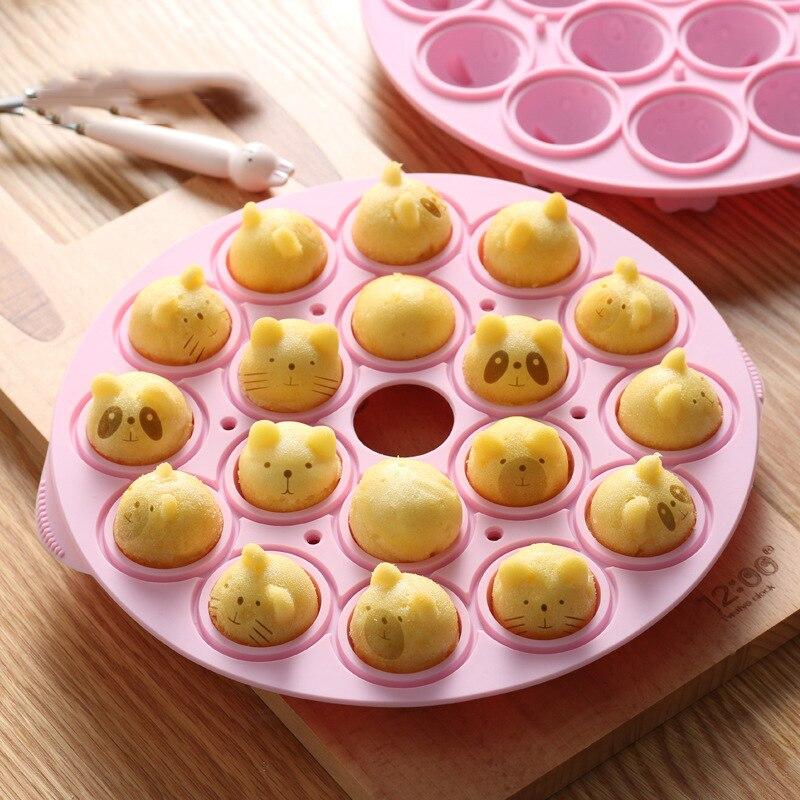 3D سيليكون الشوكولاته الهراء كعكة Chcolate قوالب البسكويت غير عصا مهلبية DIY فندان الخبز المطبخ الخبز تزيين أدوات