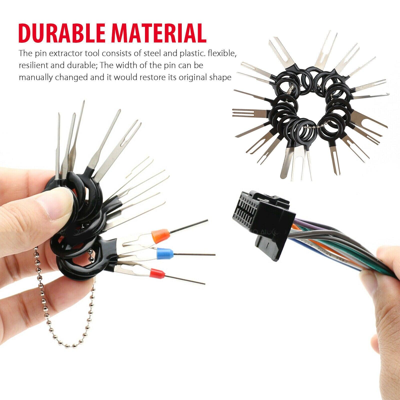 Uds.-Kit de pinza de presión para cables eléctricos, Extractor de clavijas para...