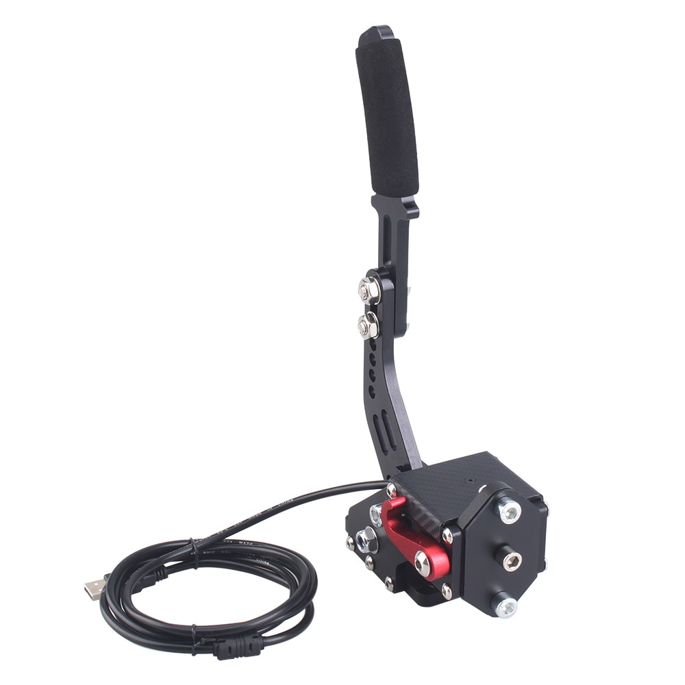 New Logitech Brake System 14 Bit Hall Sensor Usb Handbrake Sim For Racing Games G25/27/29 T300 T500 Fanatec Osw Dirt Rally Red