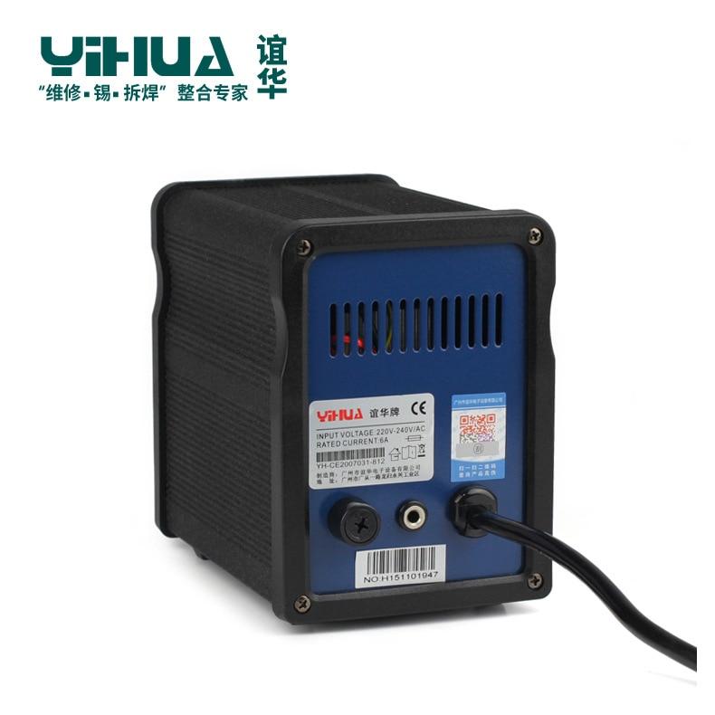 100V/220V soldering station for SMD lead-free soldering 90W YIHUA 900H enlarge