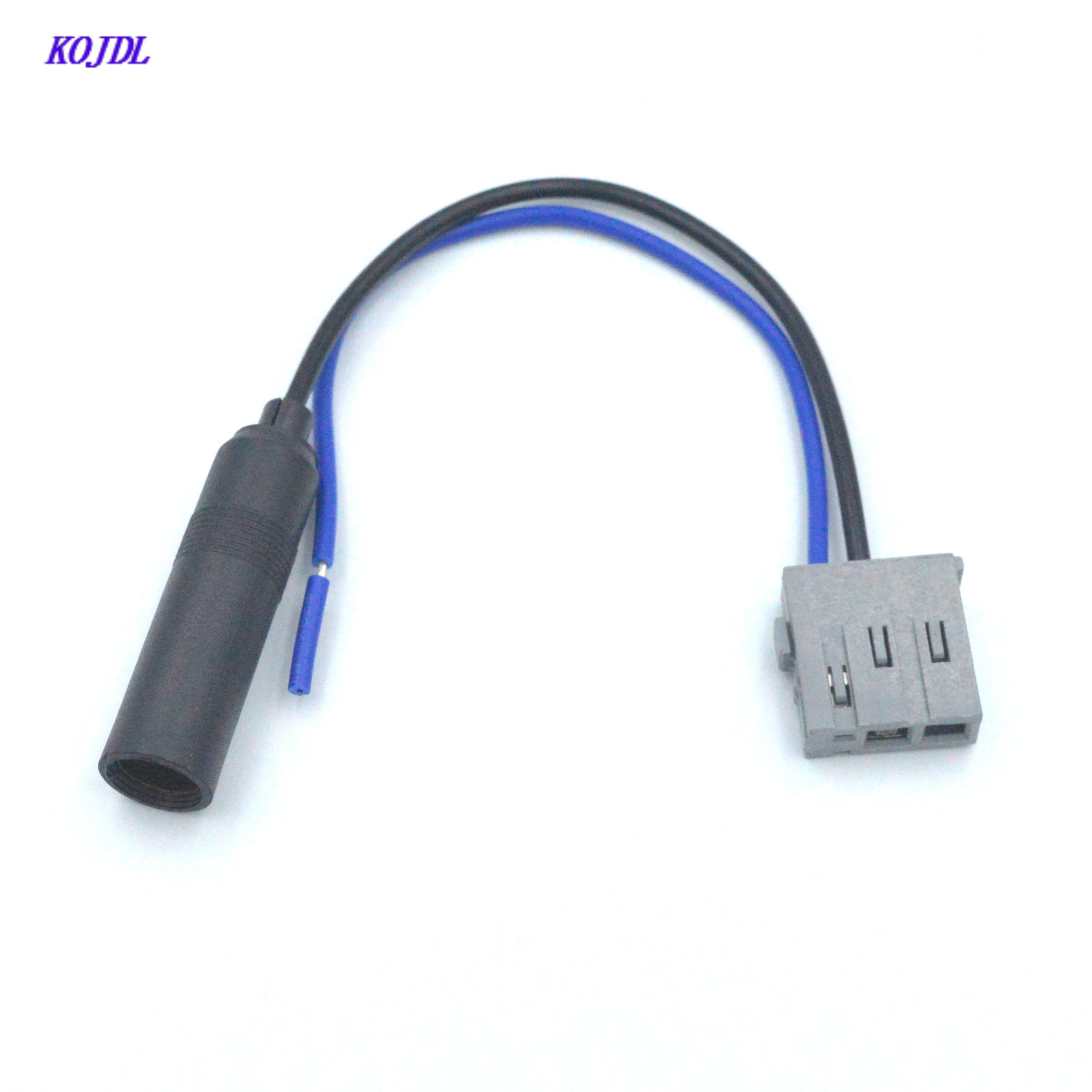 Автомобильный стерео аудио антенна установить радиоантенну антенный адаптер Comnector Подходит для Nissan мужской завод OEM обратный адаптер KOJDL