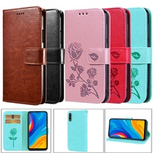 For Huawei Enjoy 10 Case Leather Flip Case For Huawei Enjoy 9S POT-AL00a 9E MRD-AL00 10S AQM-AL00 10