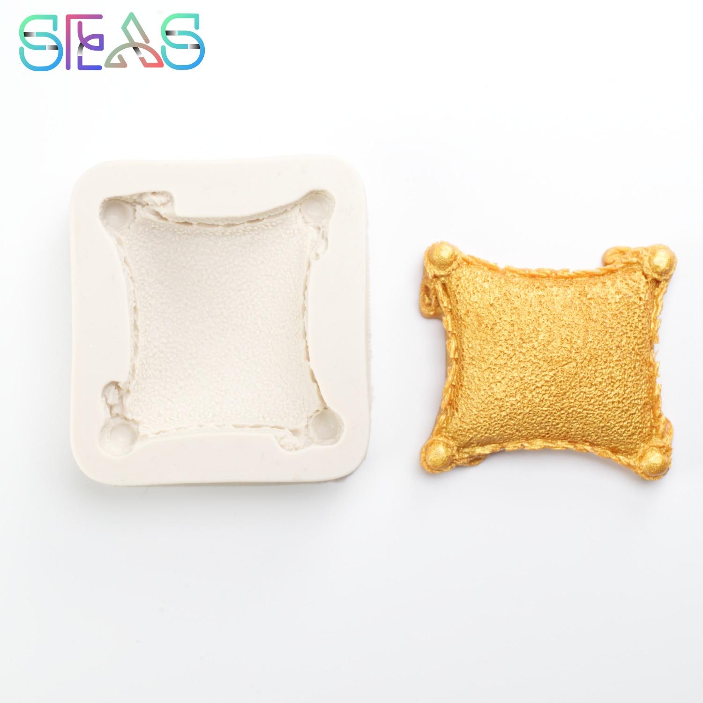 3D силиконовые формы в виде подушки для выпечки мороженого, силиконовая зеркальная форма, инструменты для украшения тортов, форма для украше...