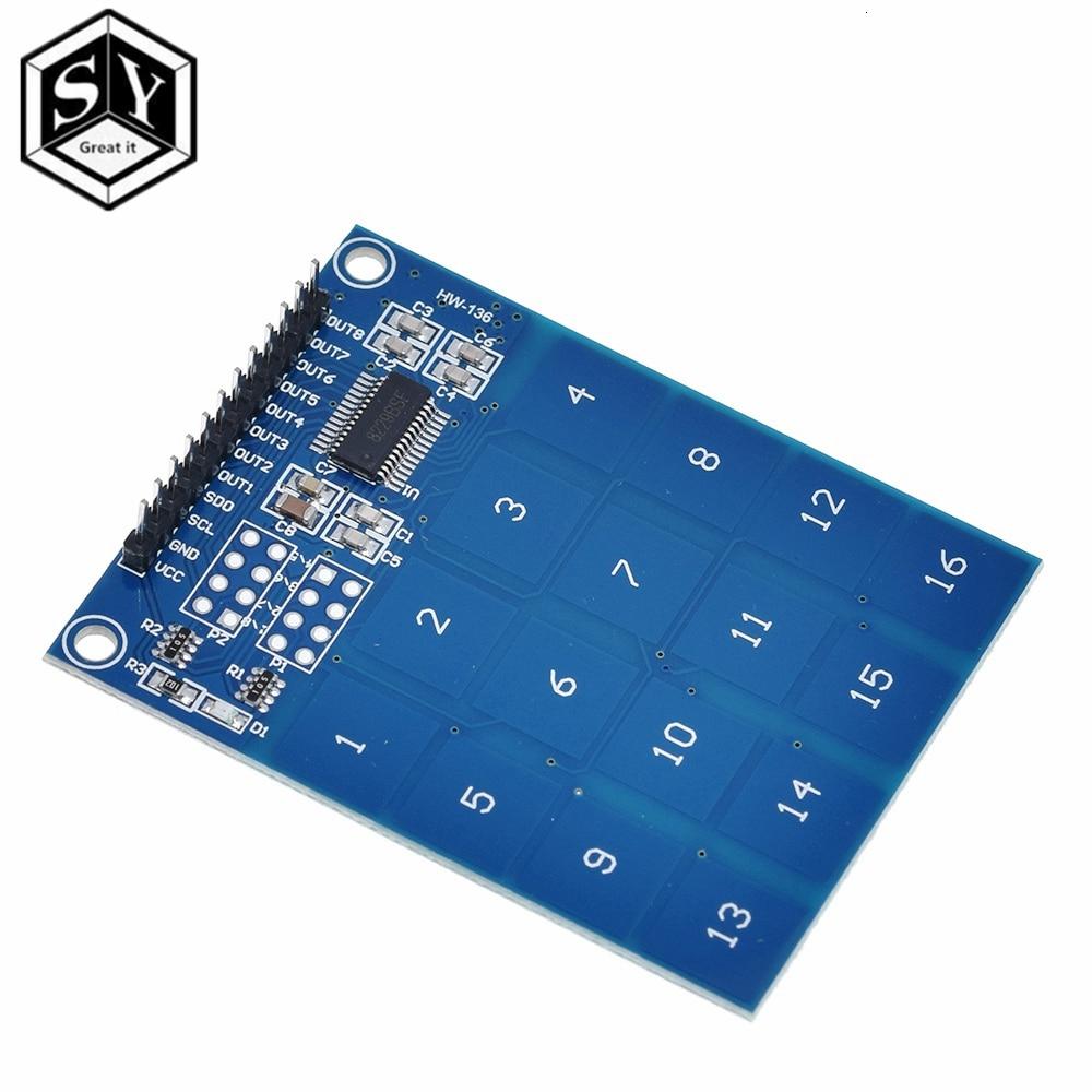 GROßE ES TTP229 16 Kanal Digital Kapazitive Schalter Touch Sensor Modul Für Arduino