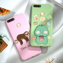 Mi 8 Lite Case FOR Xiaomi Mi 8 Lite Cover Silicone Cartoon Phone Soft Candy Color Matte Coque FOR Xi