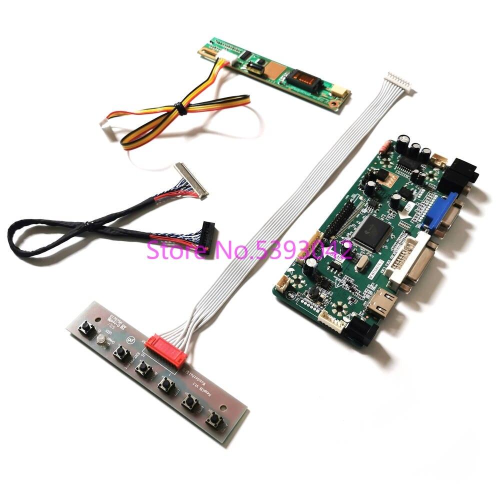 ل LTN170WX-L01/L02/L03/L04/L05/L06/L08 30 دبوس VGA 1440*900 العاكس LVDS 1CCFL M.NT68676 شاشة الكريستال السائل بطاقة وحدة التحكم عدة