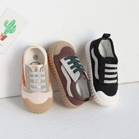 childrens casual shoes retro trend one foot canvas shoes casual version net red biscuit board shoes kids sports shoes