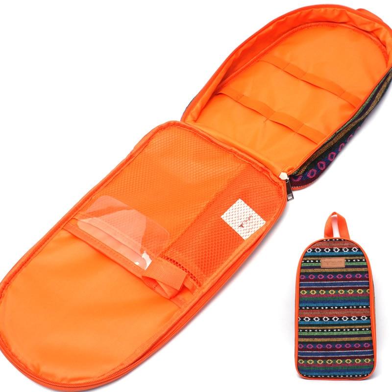 Sac de bord extérieur portable cuiseur sensible camp sac à main spatule viande fourchette stockage plissable pique-nique panier camping alimentaire fourre-tout