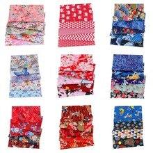 Zephyr mélange de fleurs 100% coton   Bricolage, 20x25cm, lot de fleurs coton, Patchwork de tissu Pur, artisanat de courtepointe pour couture fait main 5 pièces/lots