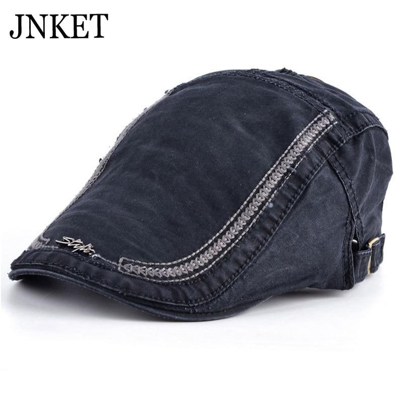 Sombrero de boina de algodón de ocio JNKET gorra de casqueta para hombre y mujer gorras planas de viaje al aire libre gorra de ornitorrinco gorra de casqueta tamaño ajustable