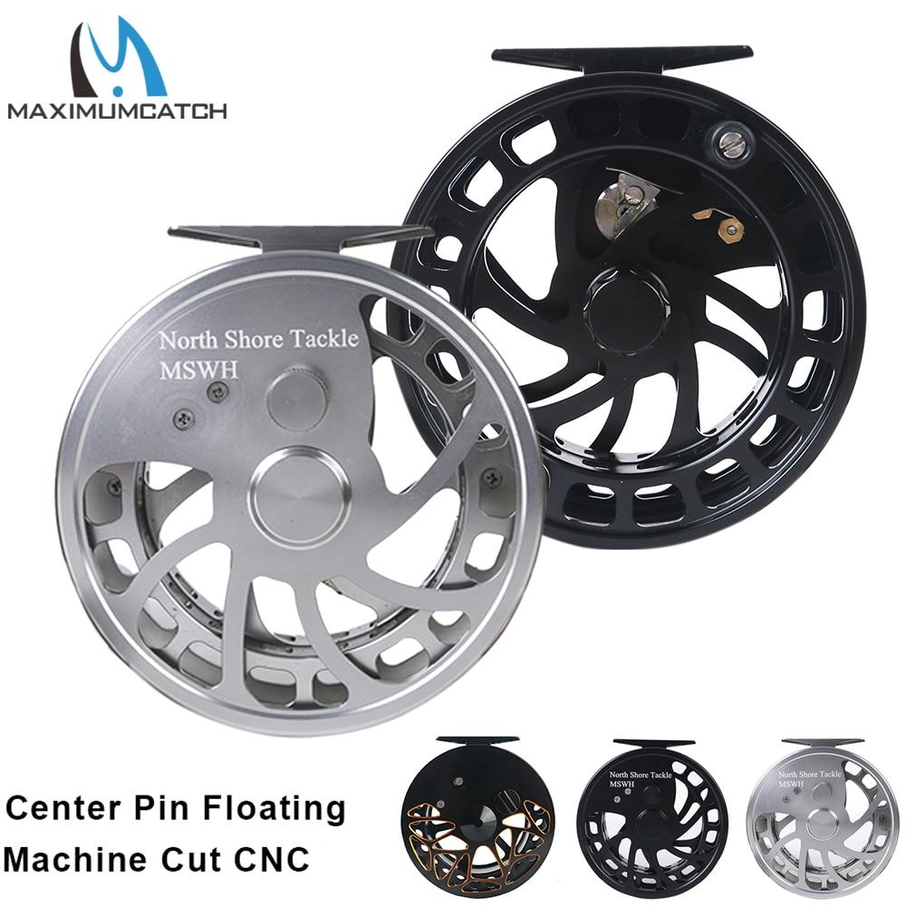 Maximumcatch Center Pin Centerpin Fishing Reel CNC Machine Cut Aluminum 6061-T6 Float Fishing Reel