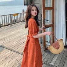 2021 Summer New Female Polka Dot Dress 038A