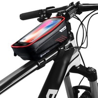 Vmonv Mountain Bike Bag Phone Holder For iPhone X XR Sansung S9 Rainproof Waterproof MTB Front Bag 6.2 inch Mobile Phone Holder