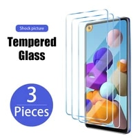 3pcs screen protector glass for samsung galaxy s10 s20 plus tempered glass for samsung s21 ultra s20 fe 5g s10 plus s7 s6 edge