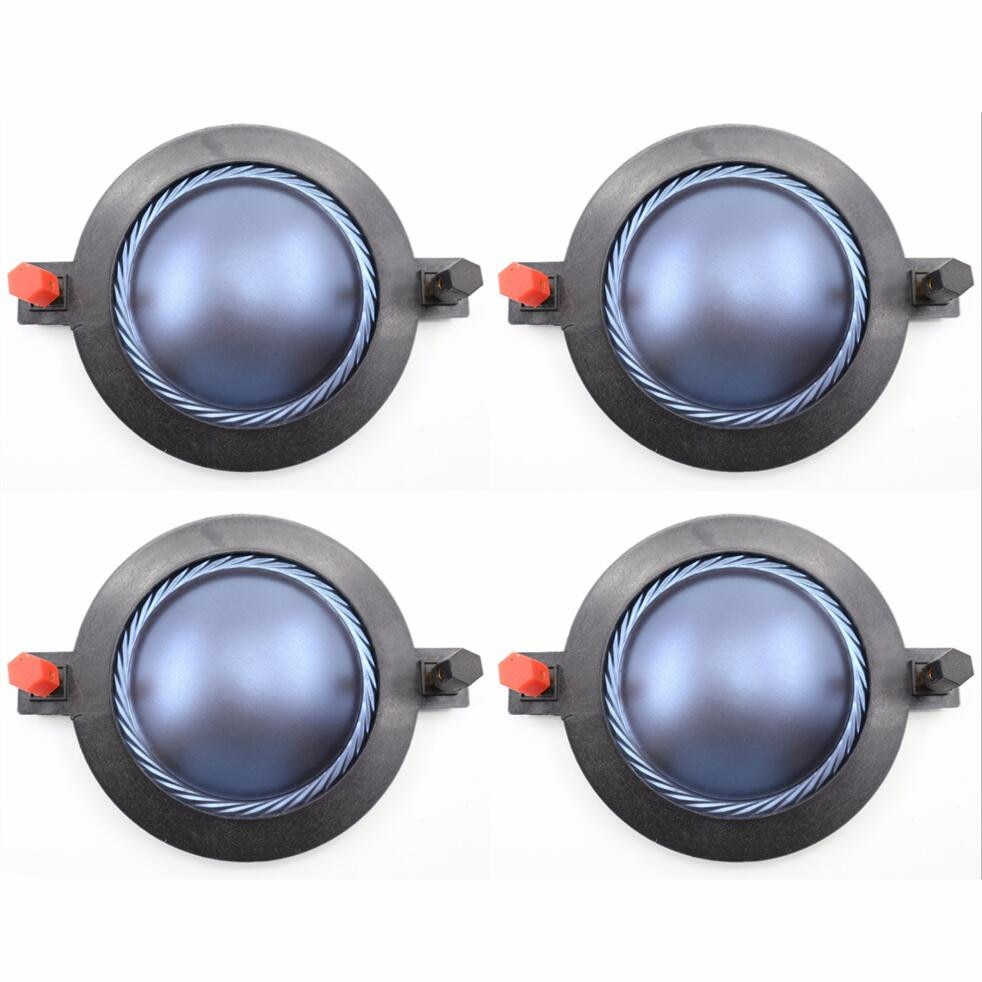 4 Uds reemplazo para B & C DE75 DE750 DE82 DE82TN DE85,DE750TN, EAW CD-5001 8 ohm diafragma azul de alta calidad del mercado de accesorios