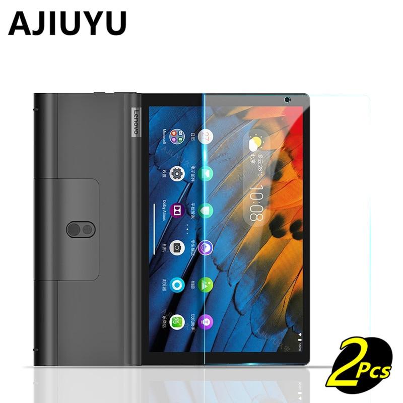 "Para lenovo yoga tab 5 YT-X705F YT-X705X vidro temperado para yoga tab5 inteligente 10.1 ""tela tablet película de vidro protetora caso"