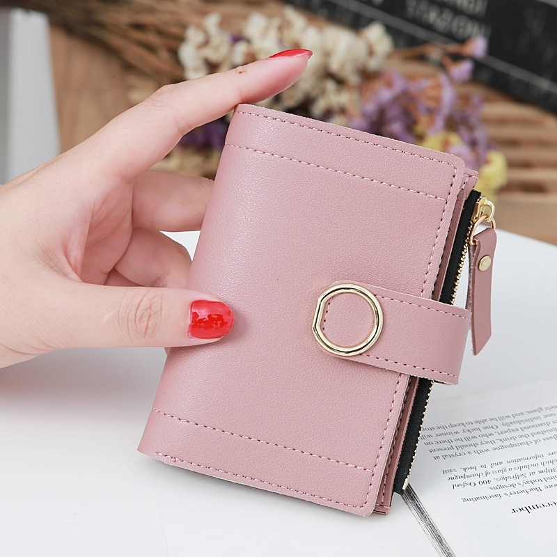 New Fashion Women's Wallet Short Women Coin Purse Wallets For Woman Card Holder Small Ladies Wallet